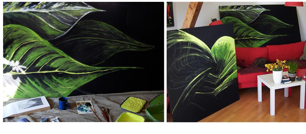 180x100 // Acryl  (Moss, Norwegen)