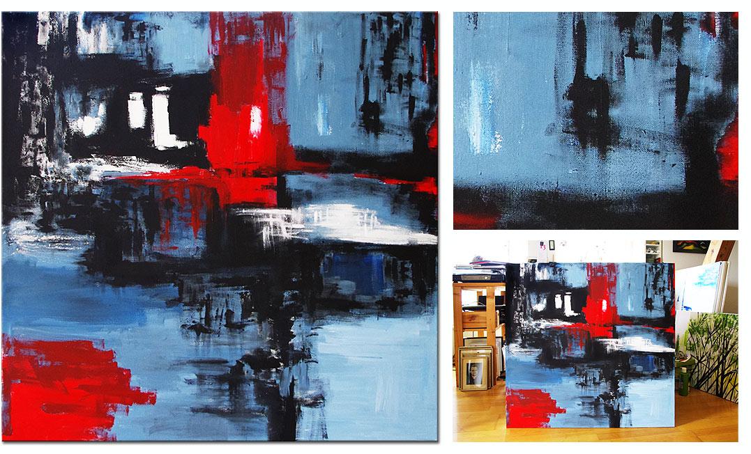 90x90 // Acryl (Weimar)