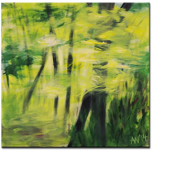 60 x 60 // Acryl (Moss, Norwegen)
